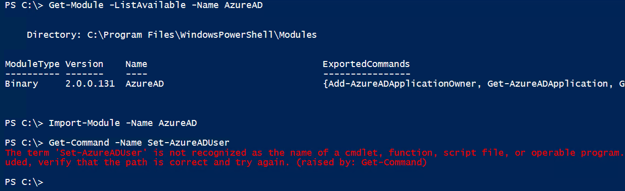 The case of the missing PowerShell command | Jan Egil Ring